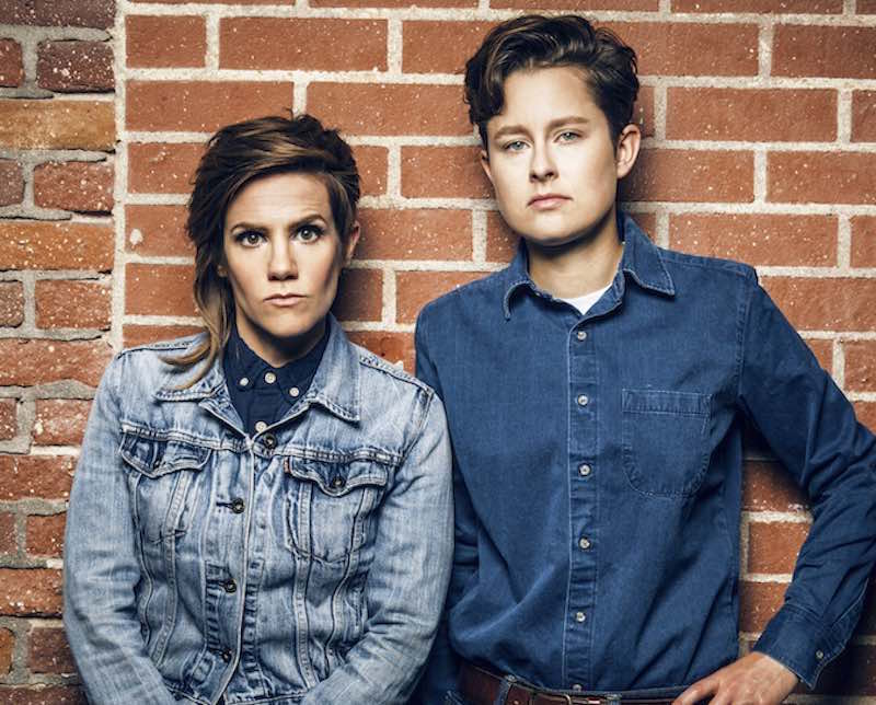 Comedians Cameron Esposito and Rhea Butcher love podcasts, denim and each other!