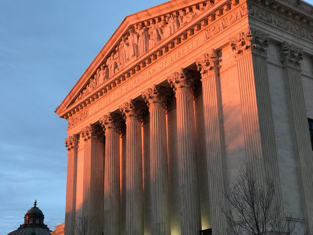 The nation's highest court has already been reshaped by the newly elected Trump administration.
