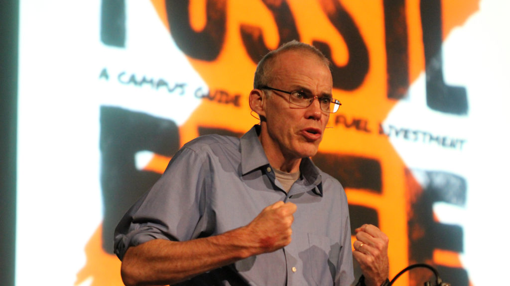 Environmentalist Bill McKibben wrote a novel about Vermont so he'd be less homesick on the road.